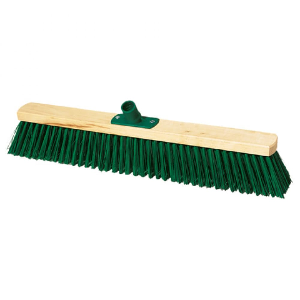 Купить Техническая деревянная щетка для уборки york ширина 60 см, щетина 75 см, еврорезьба 130 604595