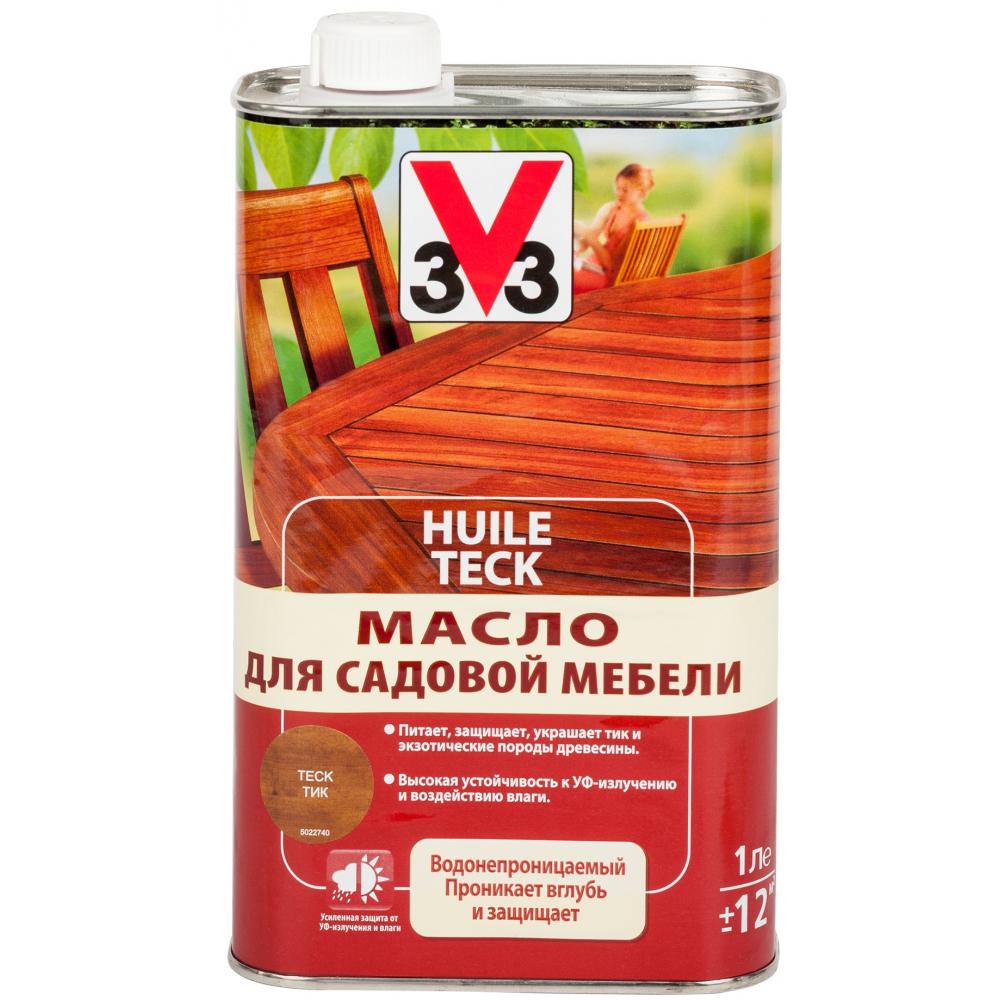 Масло для садовой мебели v33 тик 108016