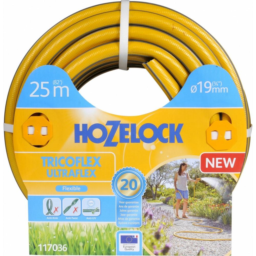 Шланг для полива hozelock tricoflex ultraflex 3/4 25 м 117036