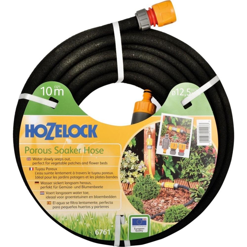 """Пористый шланг для полива с коннекторами hozelock 6761 1/2"""", 10 м 6761p3600"""