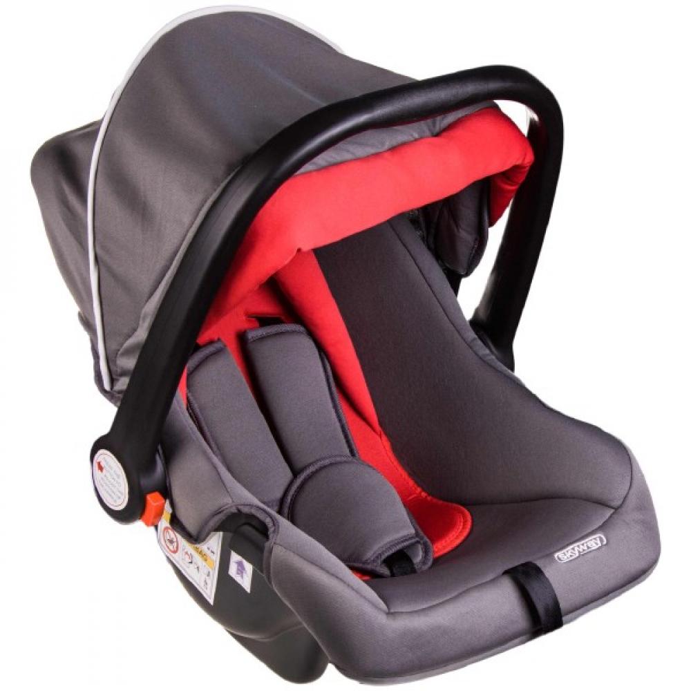 Купить Детское автокресло skyway егоза серо/красное s02801018