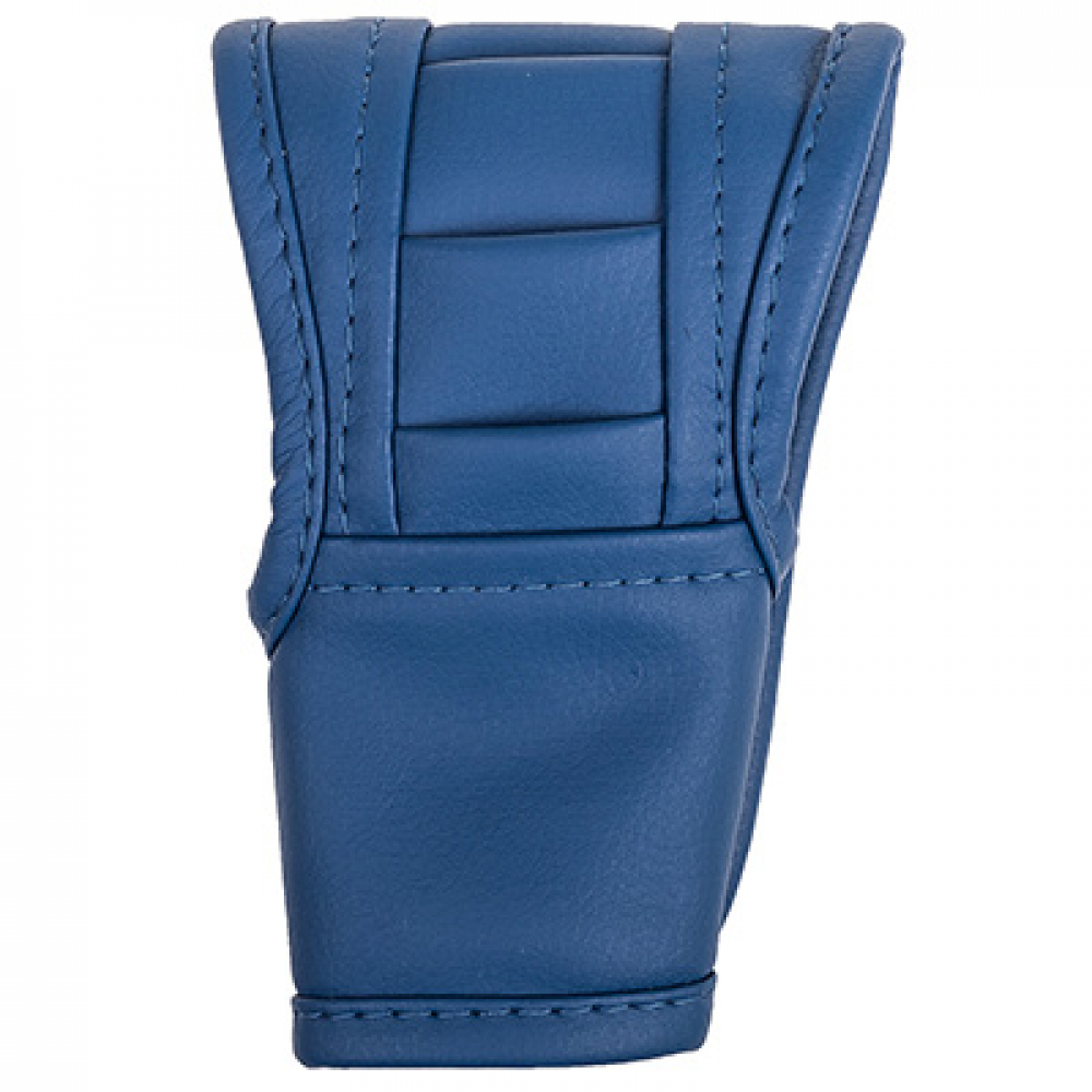 Купить Чехол рычага акпп skyway кожзам, синий s06201014