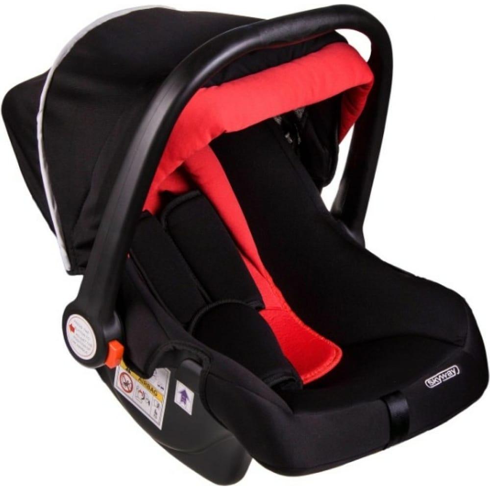 Купить Детское автокресло skyway егоза черно/красное s02801017