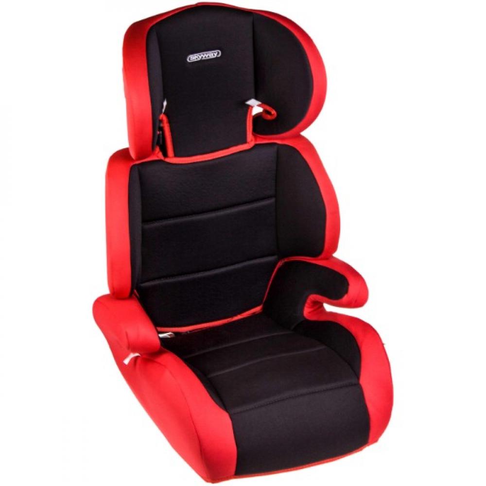 Купить Детское автокресло skyway озорник черно/красное s02801020