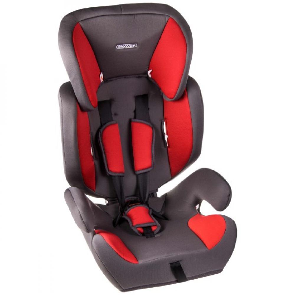 Купить Детское автокресло skyway шалун серо/красное s02801026