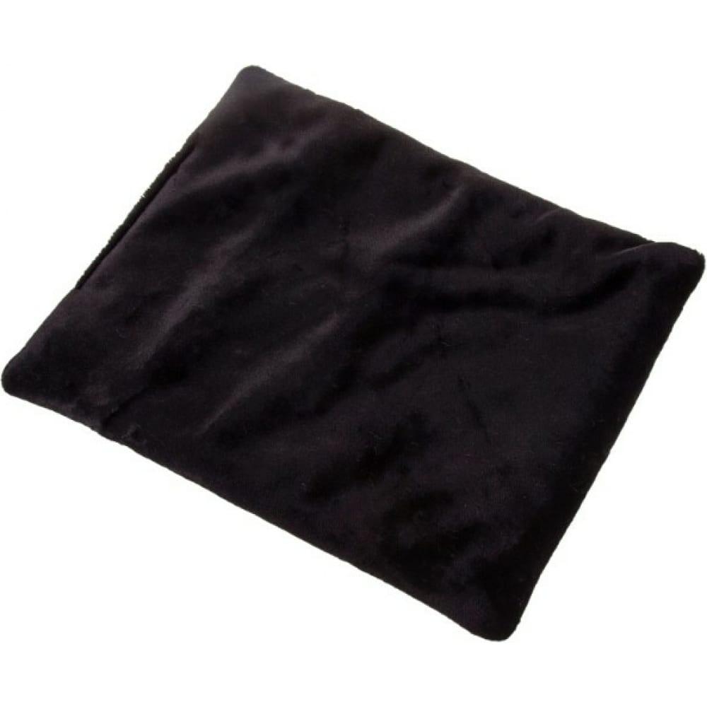 Купить Накидка сиденья skyway arctic искусственный мех, мутон, 1 шт, без спинки, черный s03003002