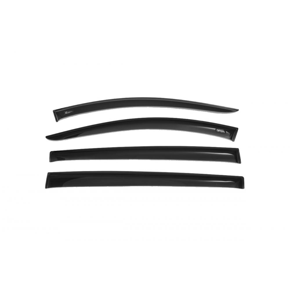 Купить Дефлекторы окон vinguru honda hr-v, 1999-2005, накладные, акриловые, 4 штуки, afv63599