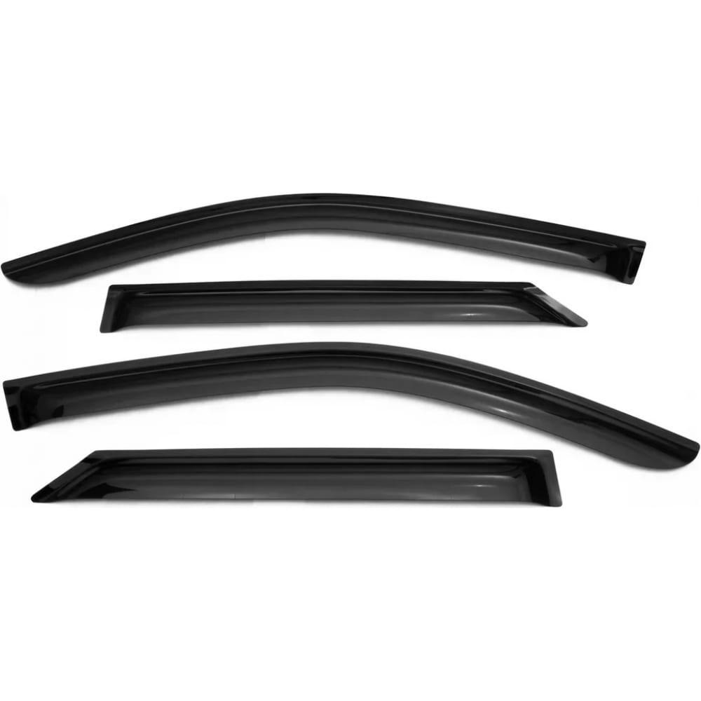 Купить Дефлекторы окон vinguru ford transit, 2014-, накладные, скотч, акрил, 2 шт. afv90720