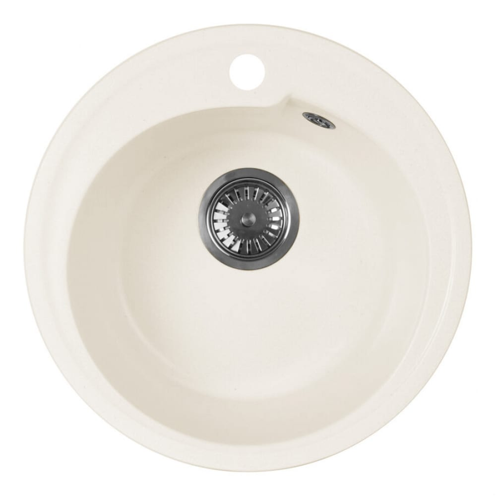 Купить Кухонная мойка aquagranitex белый m-45 /331
