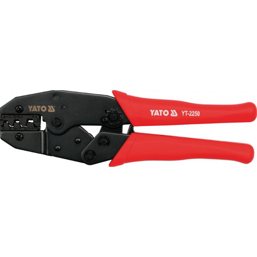 Купить Инструмент для обжима и зачистки проводов yato yt-2250