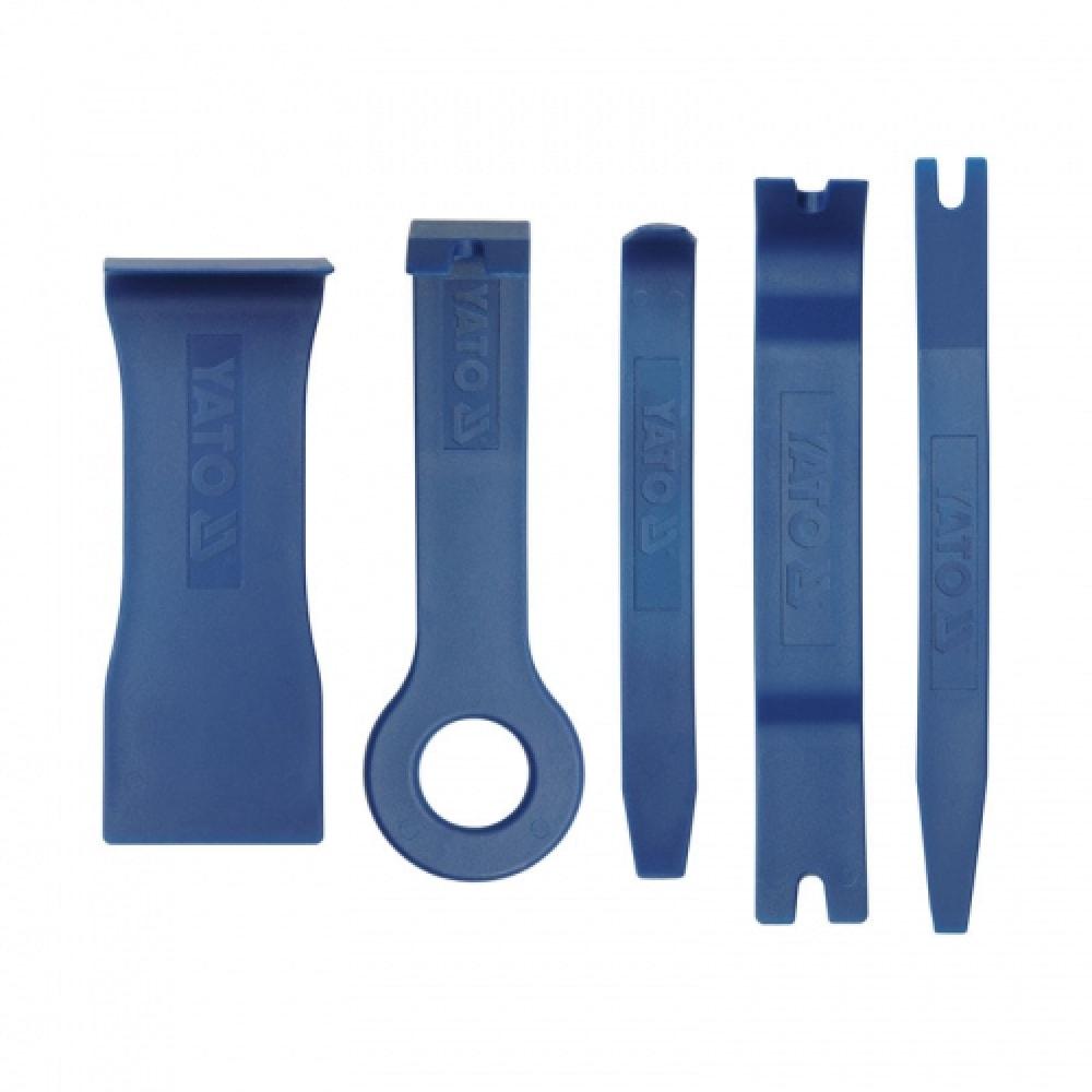 Купить Набор съемников панелей салона 5 предметов yato yt-0836
