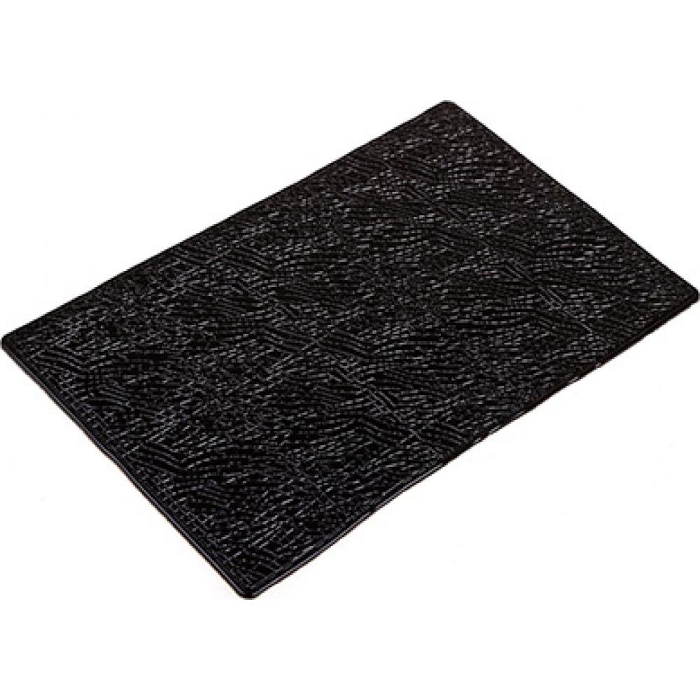 Купить Противоскользящий коврик на панель skyway плоский, принт кожа, 195x120x4 мм s00401032