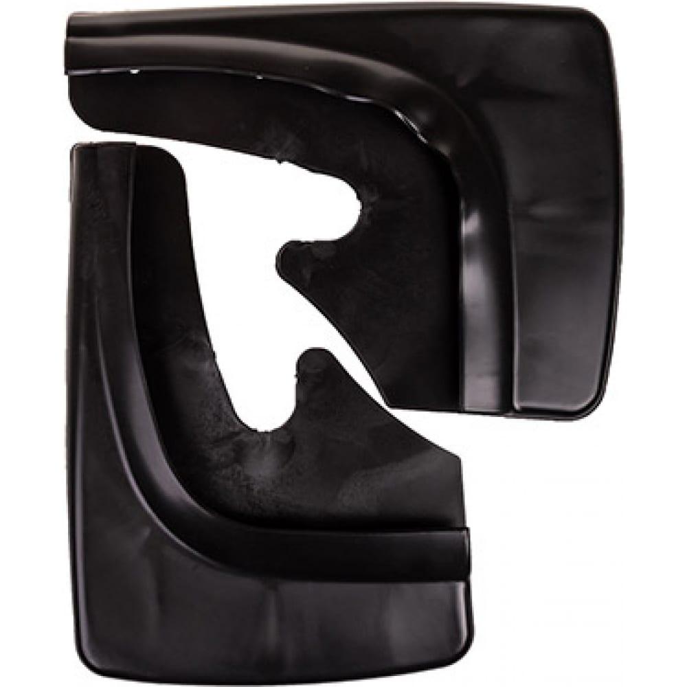 Универсальные брызговики skyway черные, 2 штуки, в пакете s05201019  - купить со скидкой