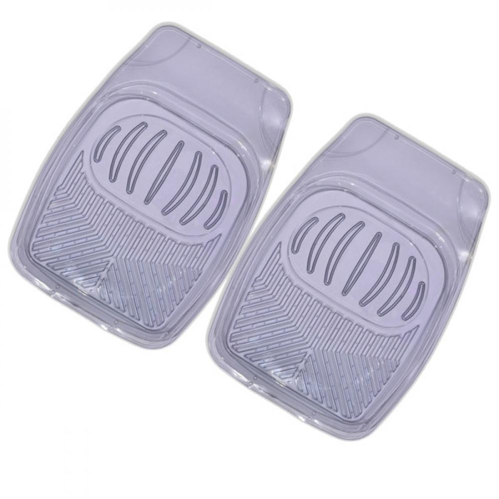 Купить Коврик салона skyway rain-1 2 предмета, ванночка, виниловый, серый, прозрачный s01701014