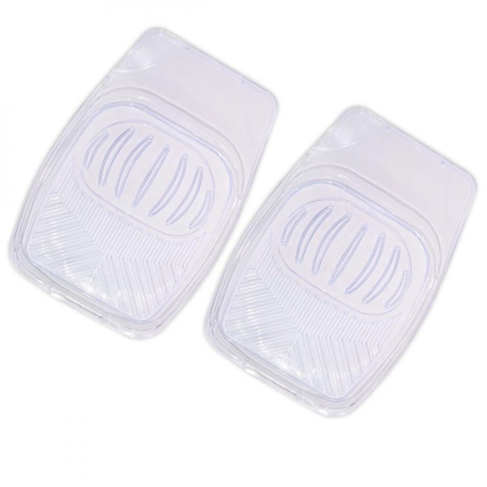 Купить Коврик салона skyway rain-1 2 предмета, ванночка, виниловый, прозрачный s01701013