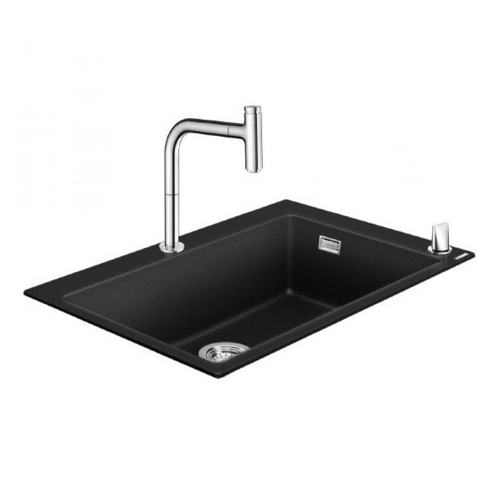 Кухонная мойка со смесителем hansgrohe 43218000 c51-f660-07 00000061696