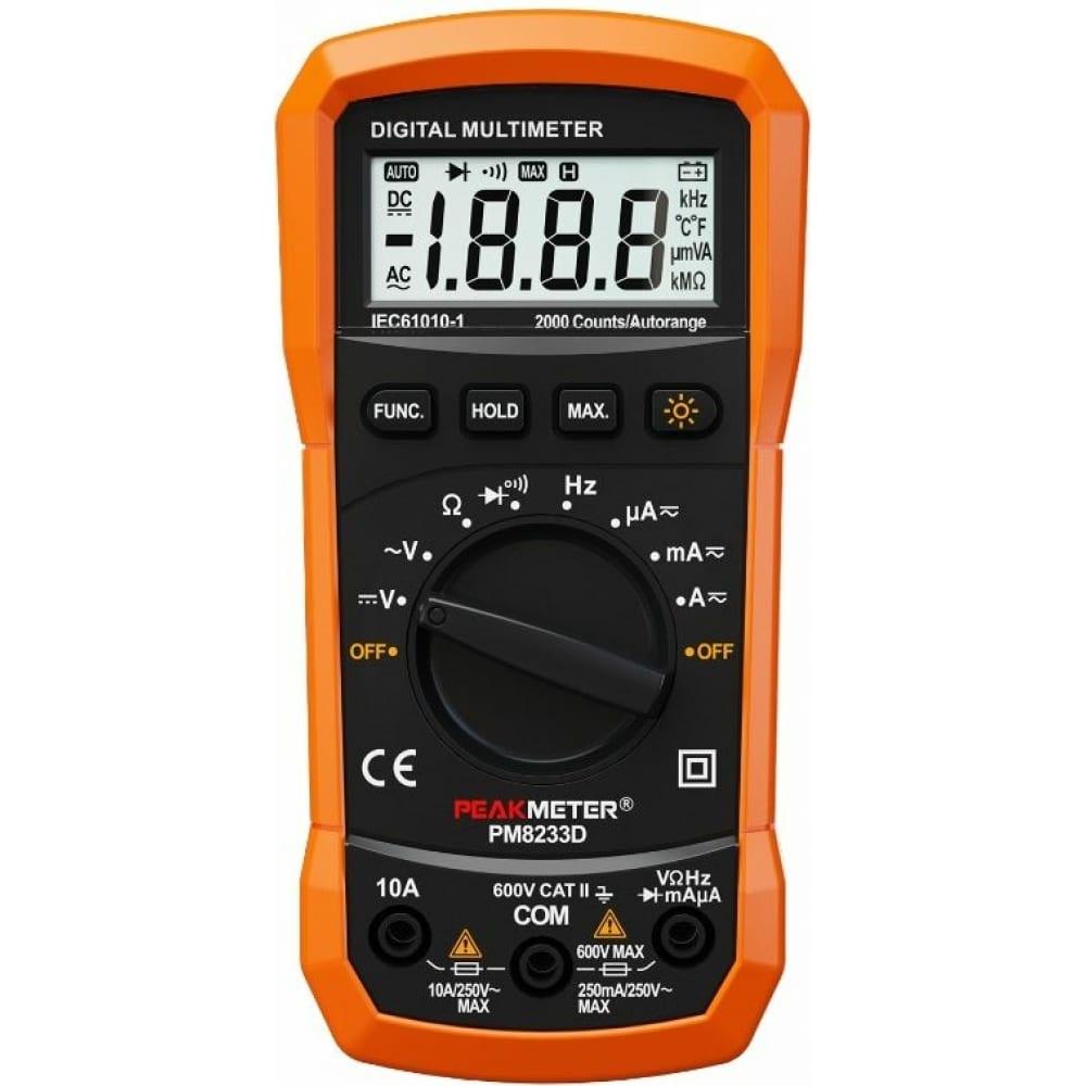 Цифровой мультиметр peakmeter pm8233d 17125