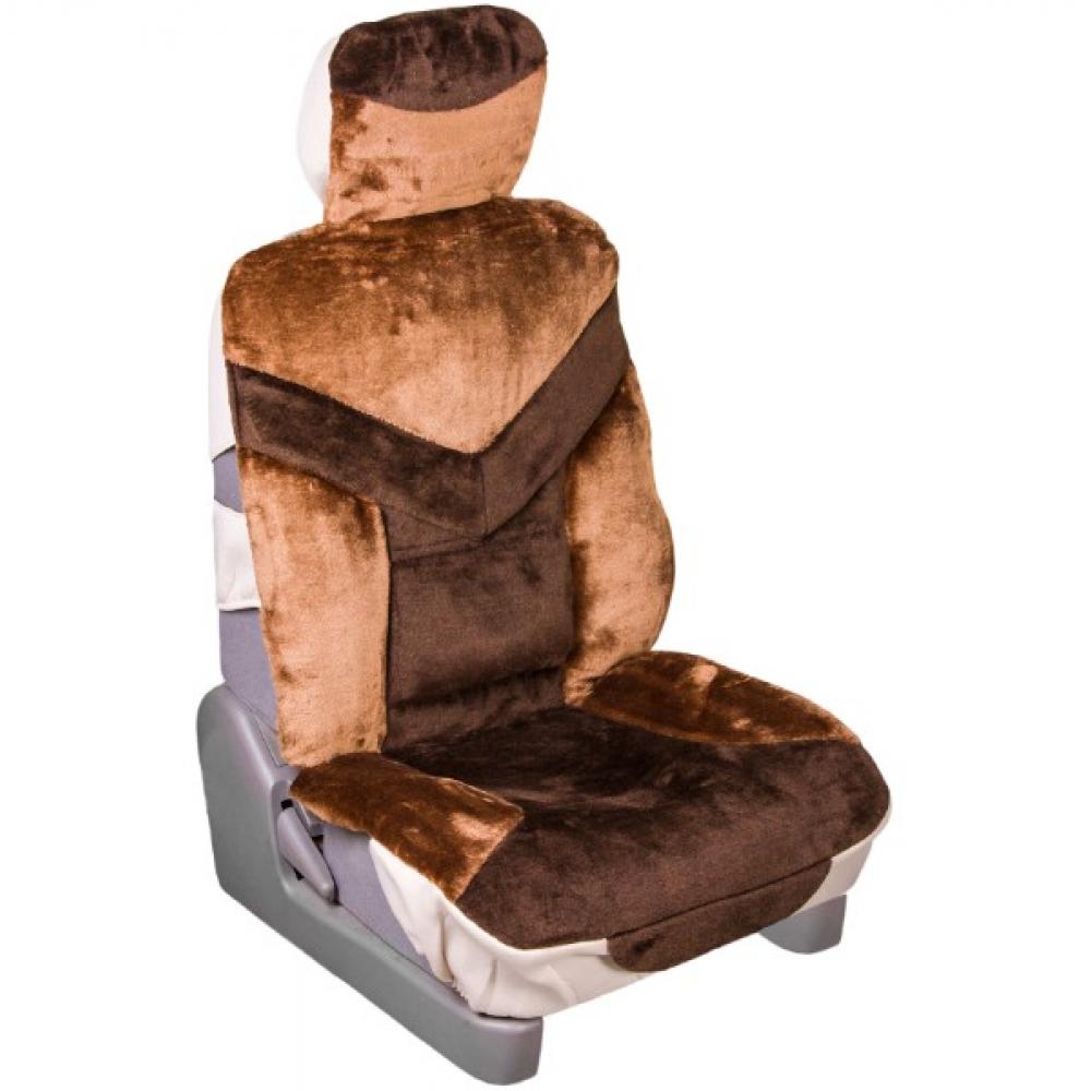 Купить Чехлы сиденья skyway искусственный мех, 2 предмета, s03001083