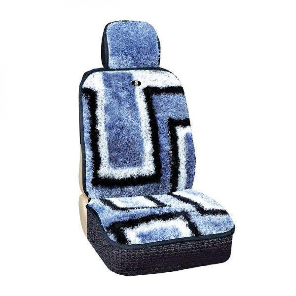 Купить Чехлы на сиденья skyway меховые, искусственный мех, 2 предмета s03001076
