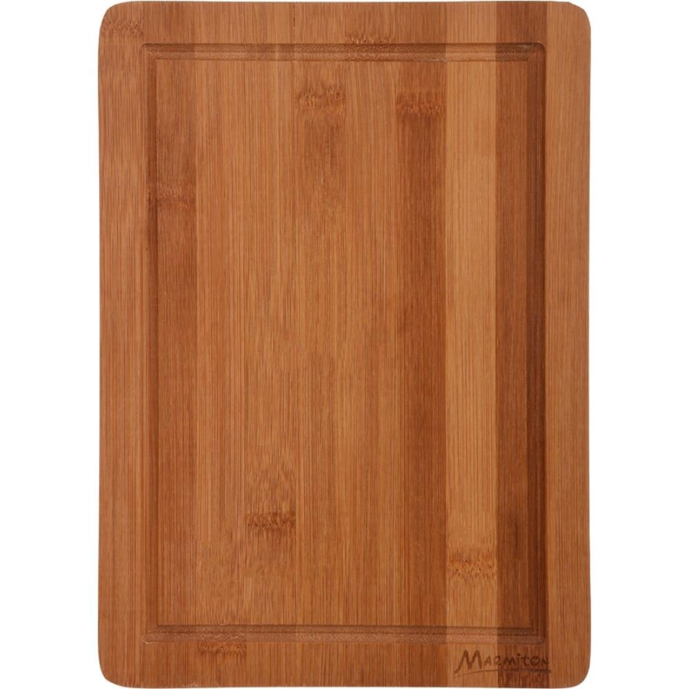 Разделочная бамбуковая доска marmiton 28х20 см 17134