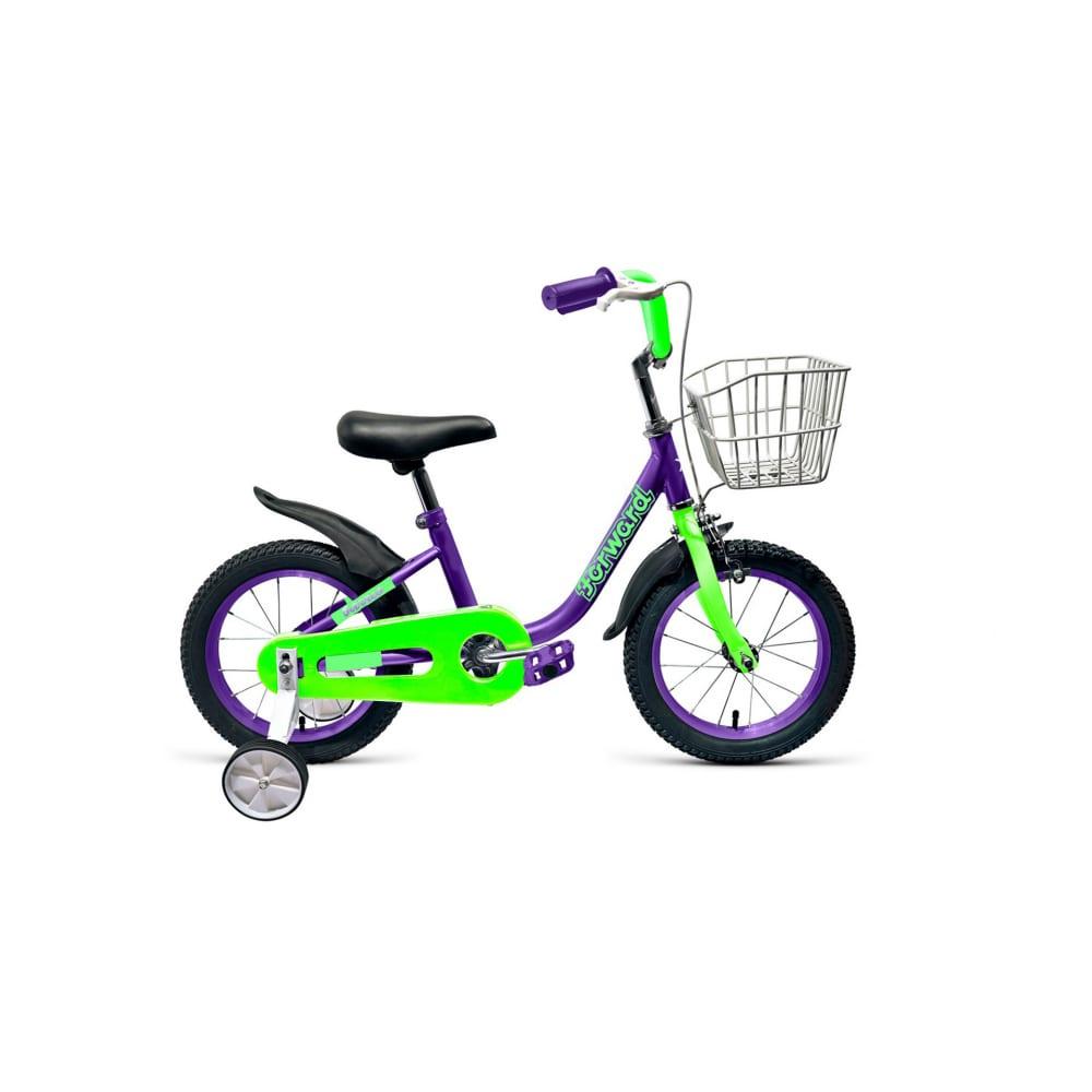 Велосипед forward barrio 14, 2018 2019, фиолетовый
