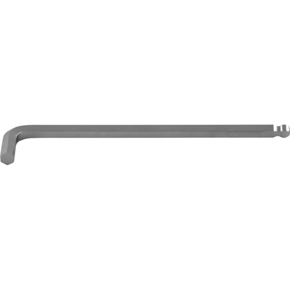 Купить Торцевой шестигранный ключ с шаром удлиненный для изношенного крепежа jonnesway h23s1190 h19 49344
