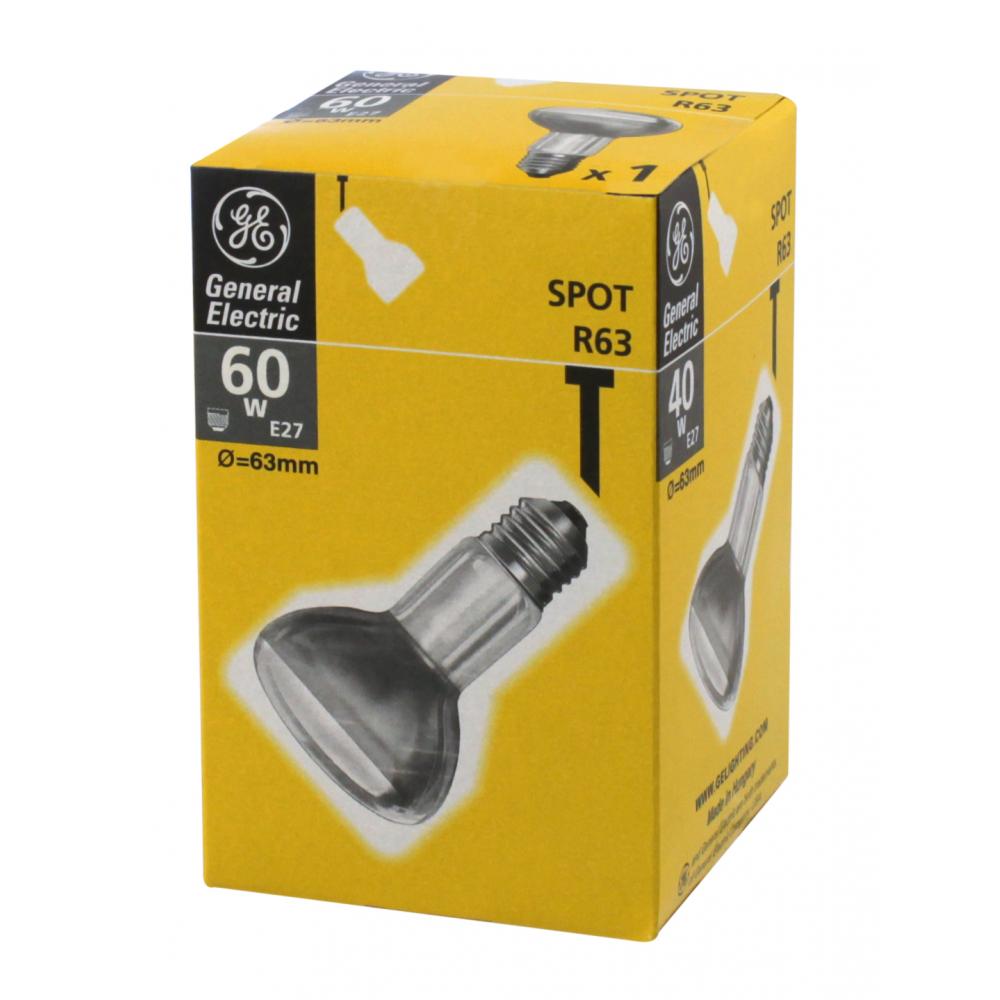 Рефлекторная лампа general electric ge 60r63/e27 --2/40 91078