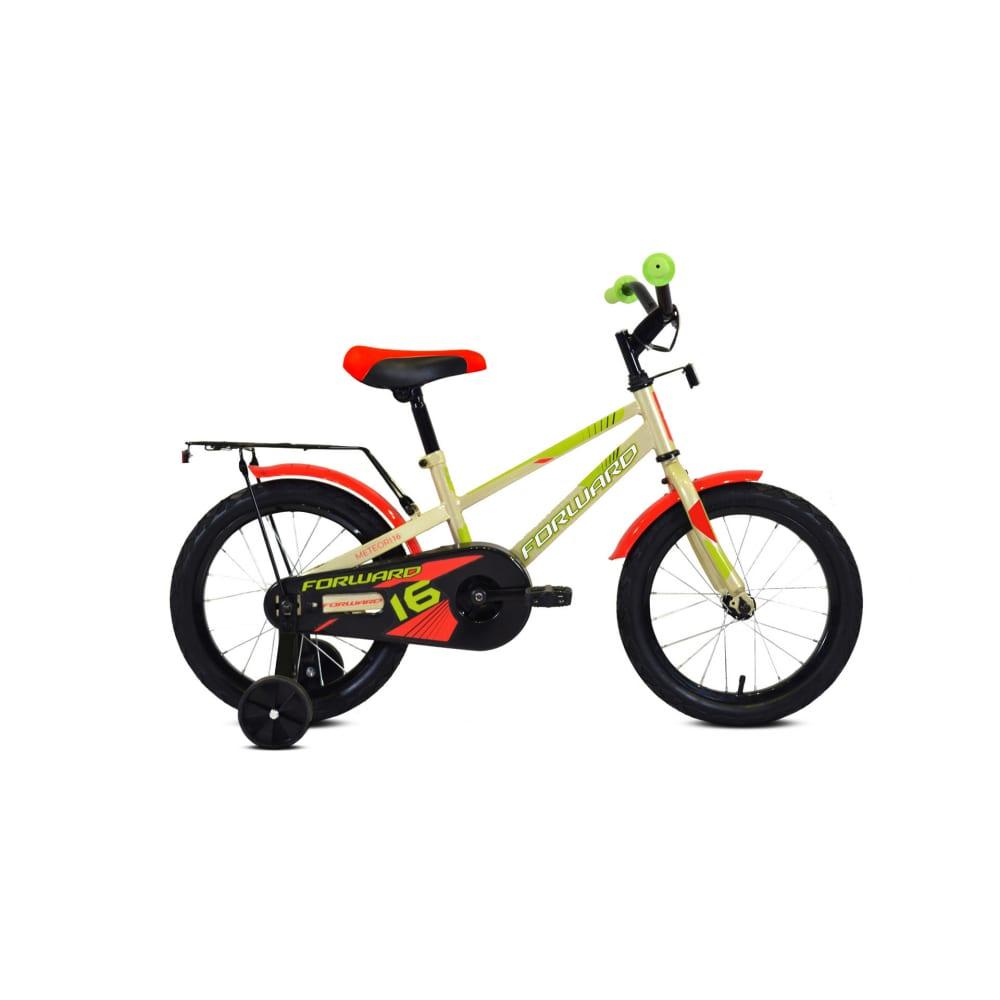 Велосипед forward meteor 14 2019 2020, серый/зеленый