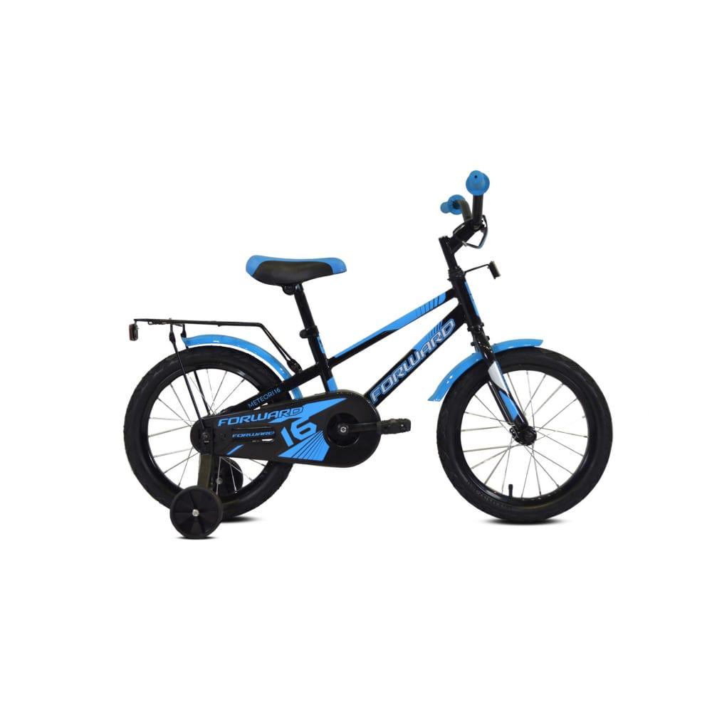 Велосипед forward meteor 14 2019 2020, черный/синий