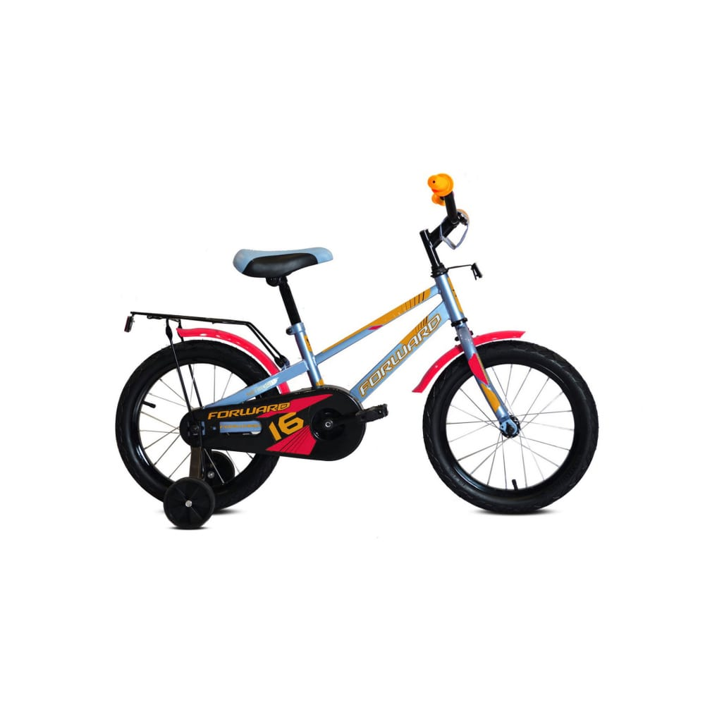 Велосипед forward meteor 16 2019 2020, серо