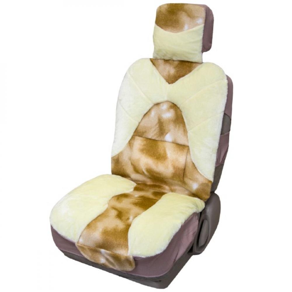Купить Чехлы сиденья skyway, меховые искусственные, 2 предмета s03001011