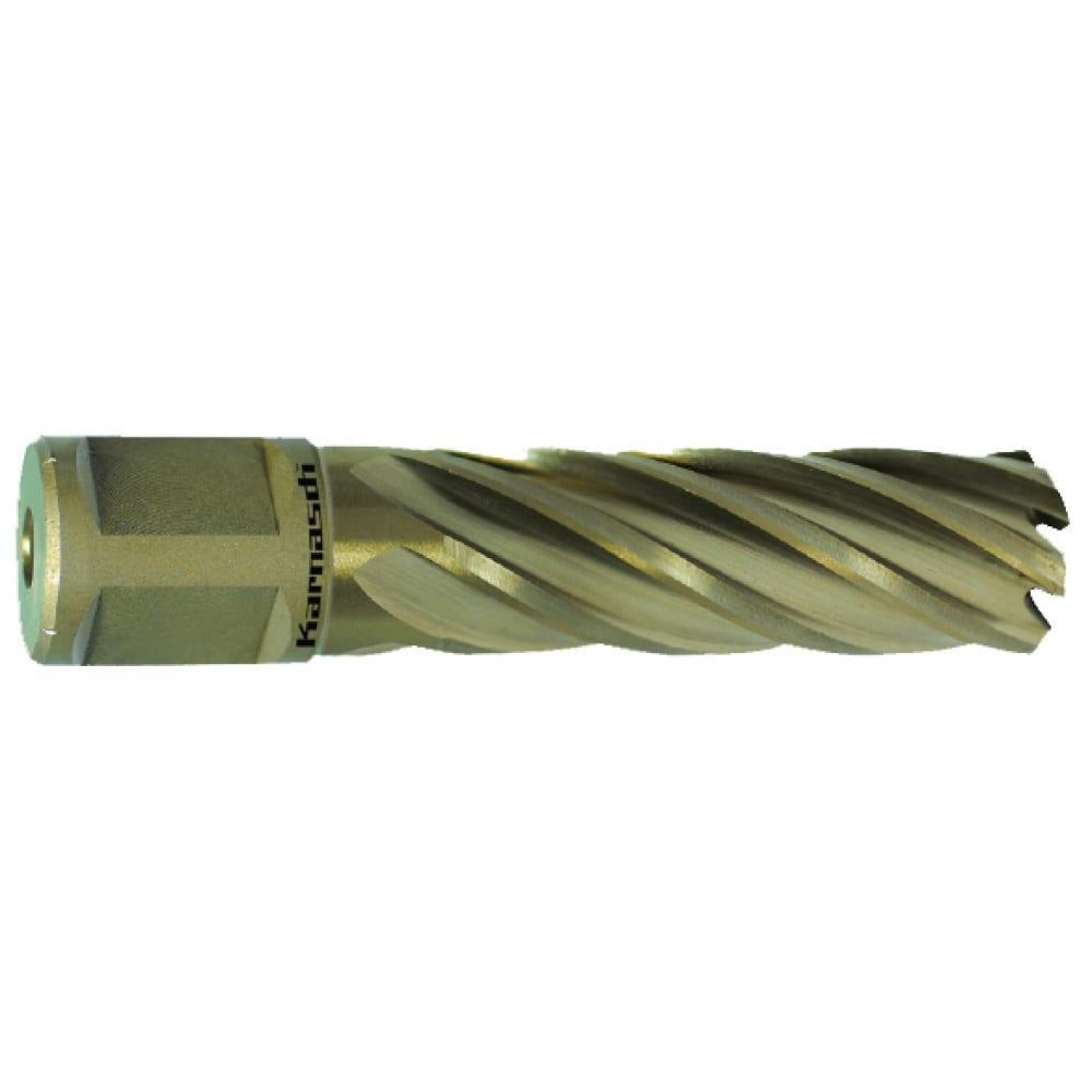 Купить Сверло корончатое gold-line (25х55 мм; weldon 19) karnasch 20.1270u-25