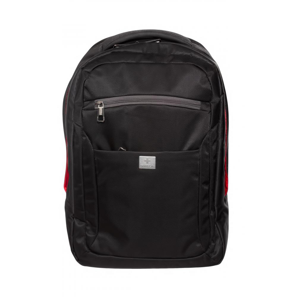Рюкзак swiza dux черный, 46x31x18 см,