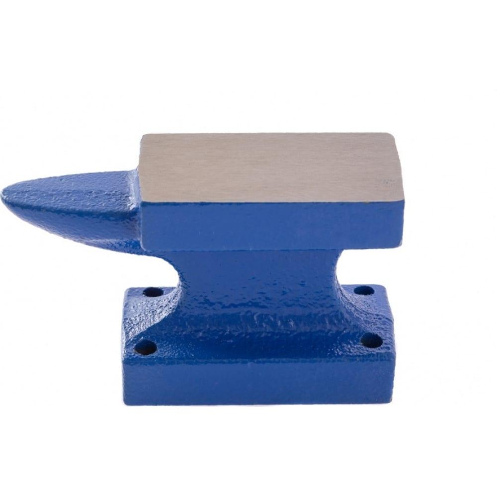 Кузнечная однорогая наковальня сибртех чугун, 450г 18680