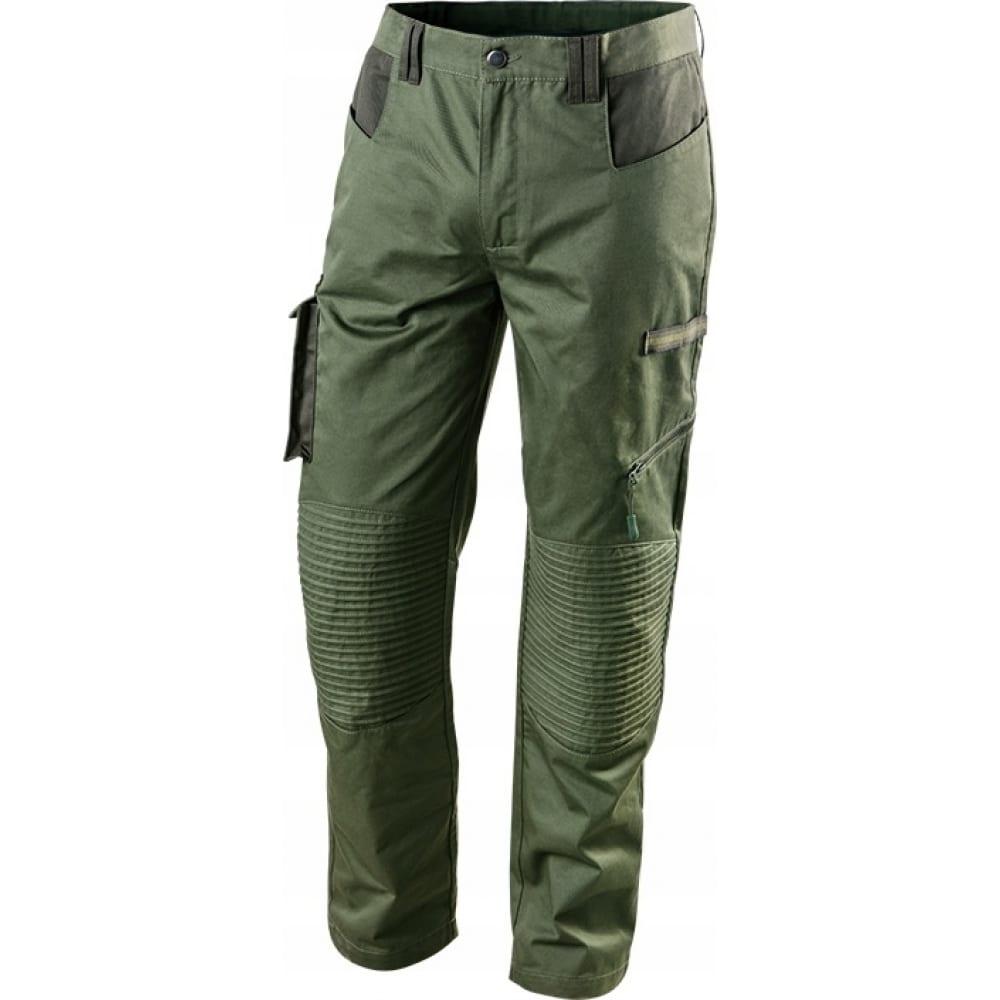 Рабочие брюки neo цвет оливковый размер xxl 81-222-xxl.