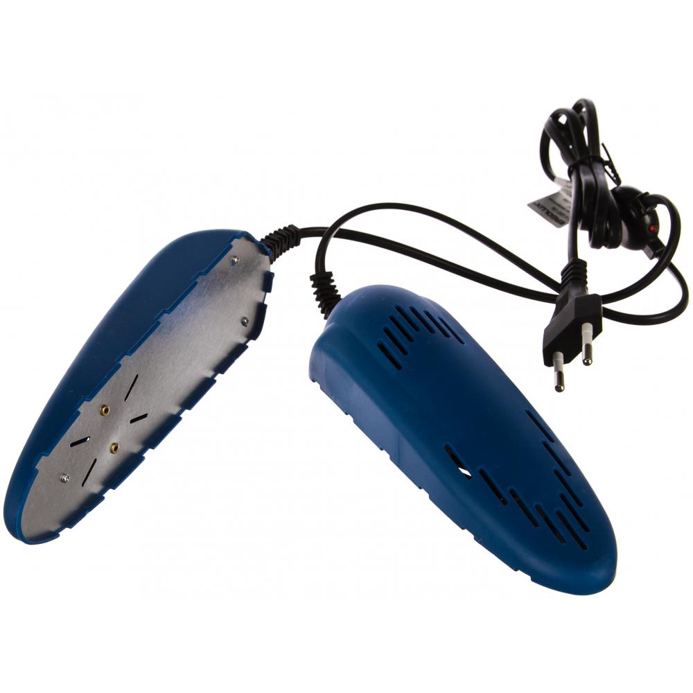 Синяя электрическая сушилка для обуви ergolux elx-sd02-c06 13980