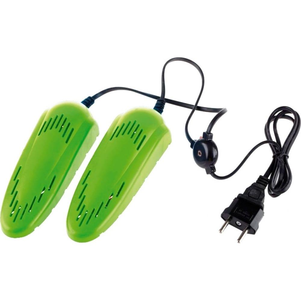 Салатовая электрическая сушилка для детской обуви ergolux elx-sd01-c16 13979