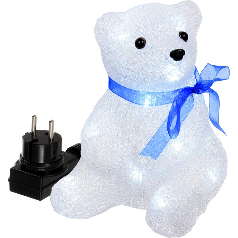 Фигура медвежонок vegas акриловая 55101