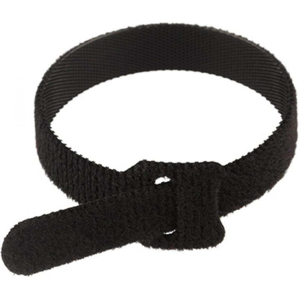 Купить Многоразовый хомут–липучка rexant 230х13 мм, черный упак. 12 шт. 07-7216