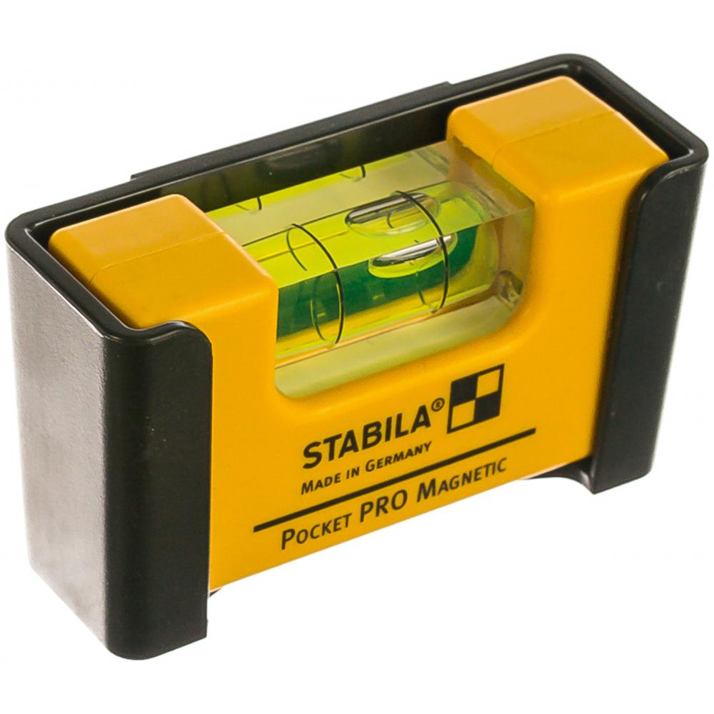 Уровень stabila pocket pro magnetic 17953  - купить со скидкой