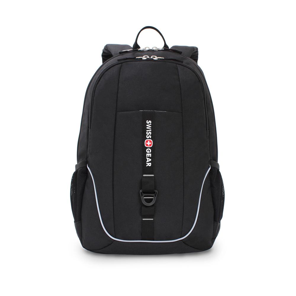 Купить Рюкзак swissgear чёрный, 33x16.5x46 см, 26л sa6639202408