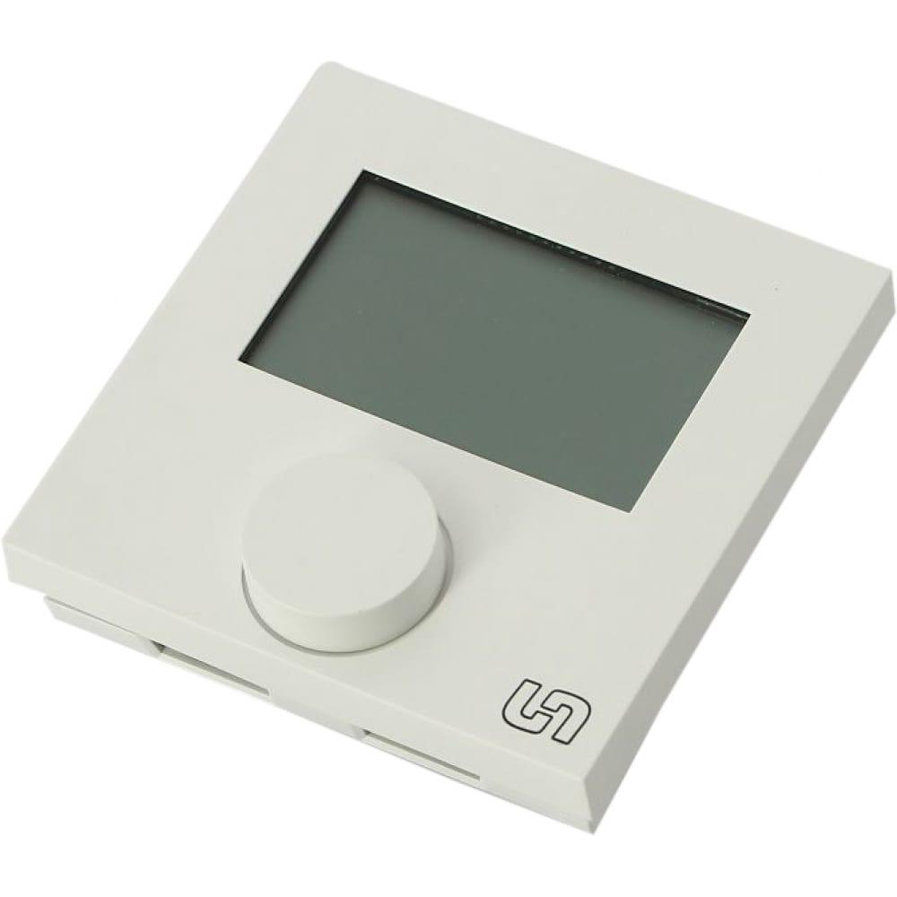 Купить Комнатный электронный термостат uni-fitt нз с дисплеем проводной 341m1000
