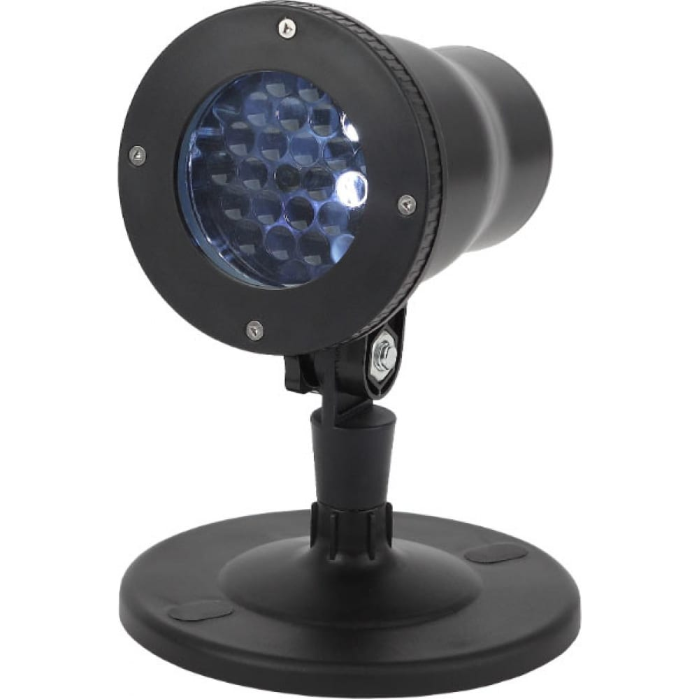 Led проектор эра eniop04 снежинки, мультирежим, холодный