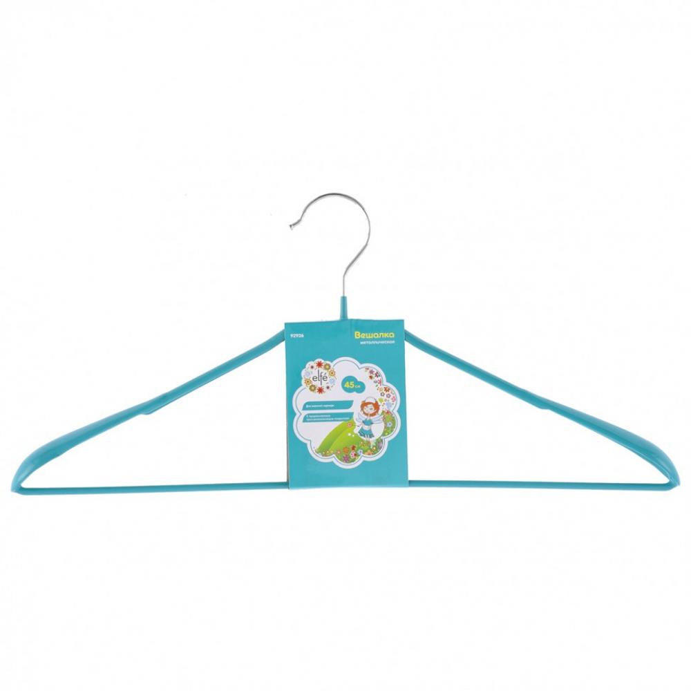 Вешалка метал для верхней одежды с прорезиненным