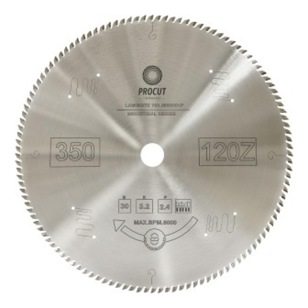 Диск пильный по плексигласу и пластику (350x30x3.2/2.2 мм; 120z) procut 783.3503001p  - купить со скидкой