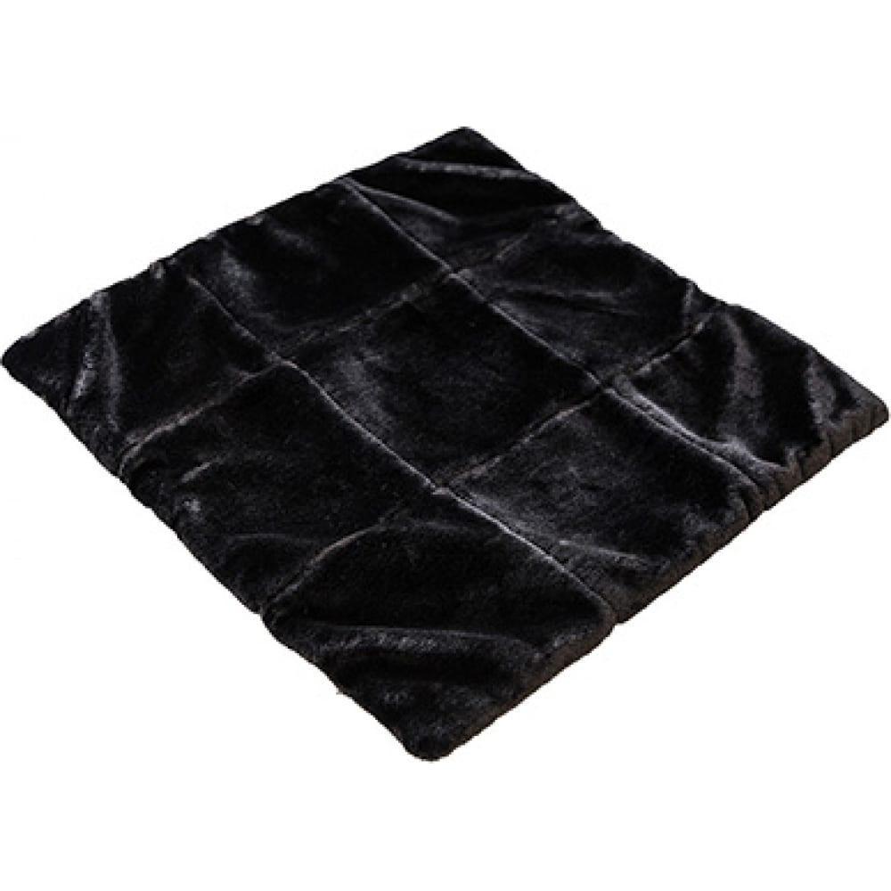 Купить Накидка сиденья skyway искусственный мех, мутон, без спинки, 43*43 см., черный s03003008