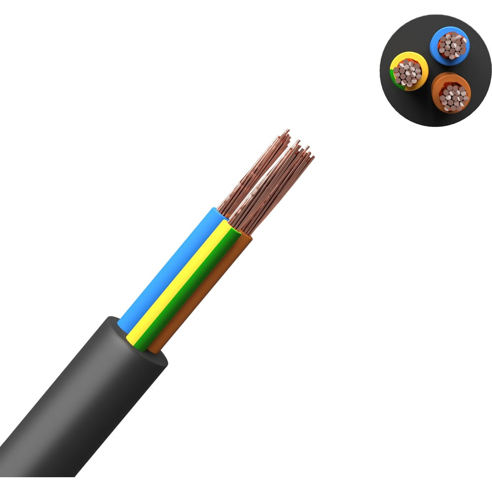 Купить Кабель кгт партнер-электро 3х1, 5 20м p105g-03051-c020