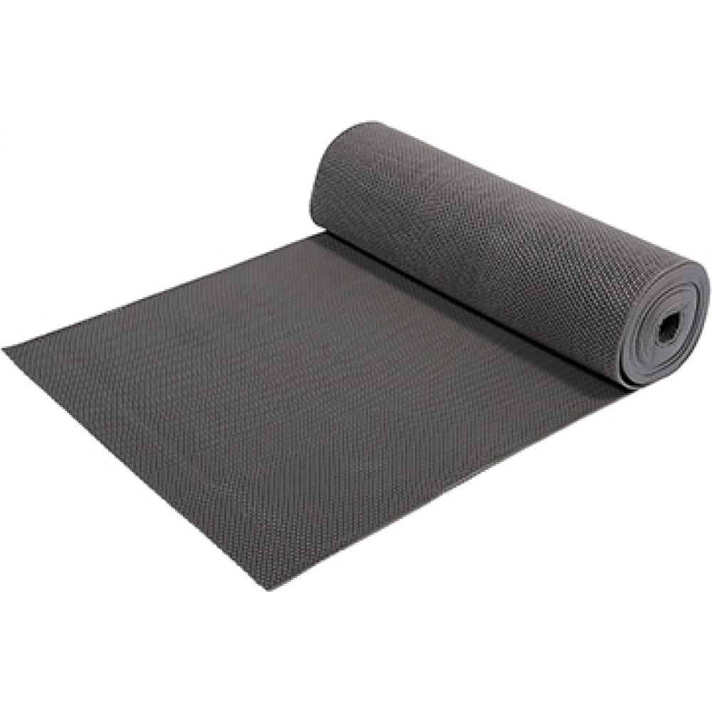 Купить Коврик-дорожка vortex пвх zig-zag 5 мм 0, 9х10 м, против скольжения, серый 22156
