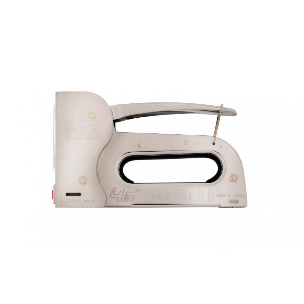 Степлер стальной npi 4-в-1, heavyduty, скобы 6-14 мм 41017