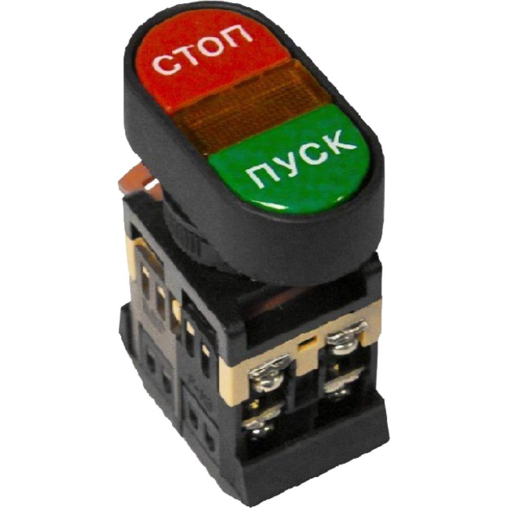 Овальная кнопка пуск-стоп ekf apbb-22n proxima 24в no nc sqpbn-apbb-o-24